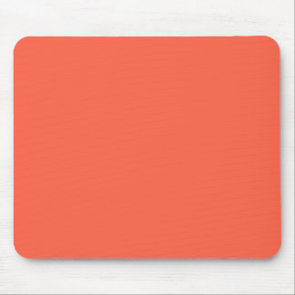 Tomato Red Solid Color Mouse Pad