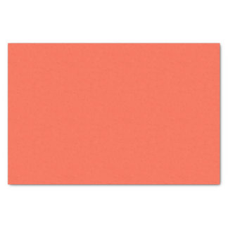 Tomato Red Solid Color Tissue Paper