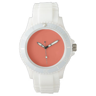 Tomato Red Solid Color Watch