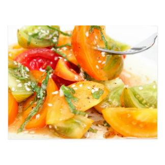 Tomato Salad Postcard