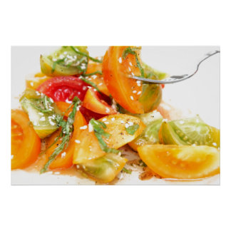 Tomato Salad Poster