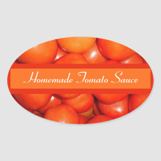 Tomato Sauce/Diced Canning Label