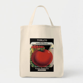 Tomato Seed Packet Label Tote Bag