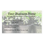 Tomato Seedlings In Nursery Pots Business Card