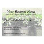 Tomato Seedlings In Nursery Pots Business Card Template