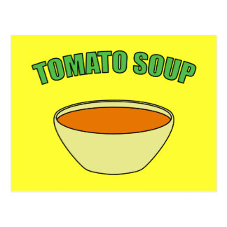 Tomato Soup Post Card