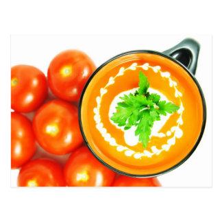 Tomato soup postcards