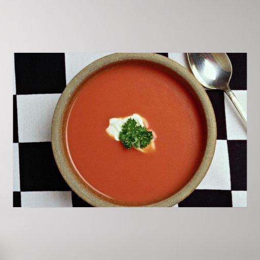 Tomato soup poster