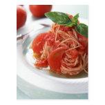 Tomato Spaghetti Postcards