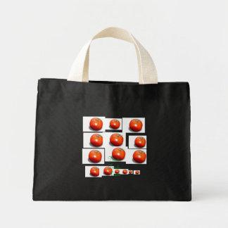 tomato, tomato, tomato, tomato, tomato, tomato,... mini tote bag