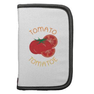 Tomato Tomatoe Folio Planners