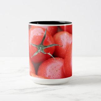 tomato Two-Tone coffee mug