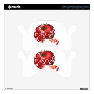 TOMATO - WOWCOCO PS3 CONTROLLER DECAL