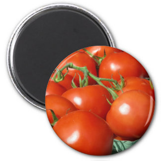 Tomatoes 2 Inch Round Magnet