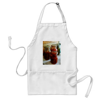 Tomatoes and String Beans in Canning Jars Adult Apron