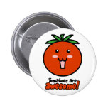 Tomatoes are Awesome Buttons