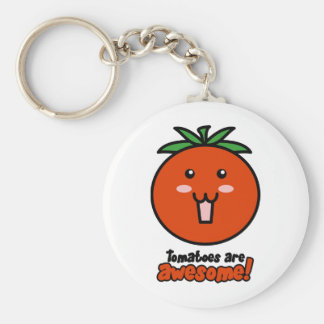 Tomatoes are Awesome Keychains