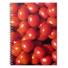 Tomatoes background notebook