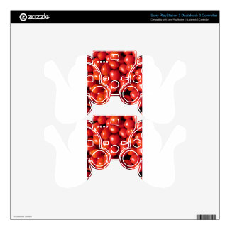 Tomatoes background PS3 controller skins