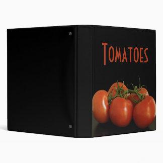 Tomatoes 3 Ring Binders