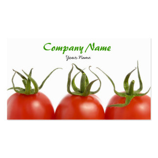 Tomatoes Business Card Template