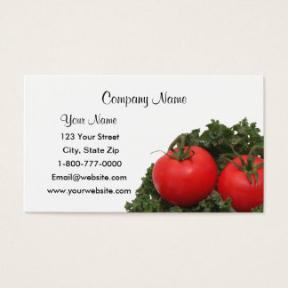Tomatoes Business Cards