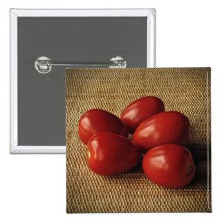 Tomatoes Pinback Button