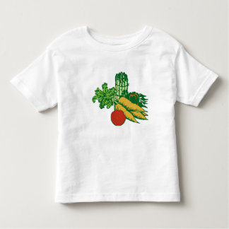 Tomatoes Carrots and More! Toddler T-shirt
