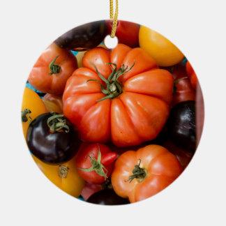 Tomatoes Ceramic Ornament