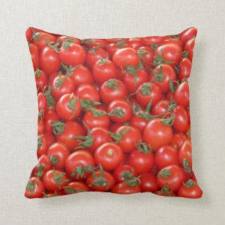 Tomatoes Cherry Throw Pillow