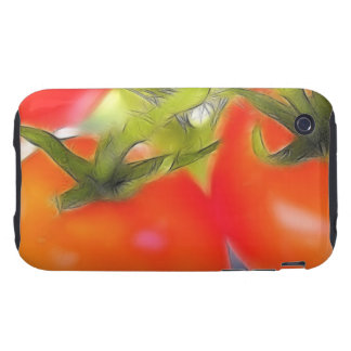 Tomatoes Close Up iPhone 3 Tough Cover