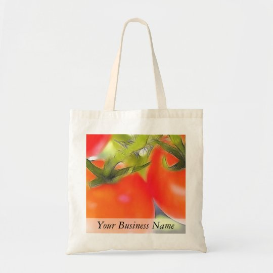 Tomatoes Close Up Tote Bag