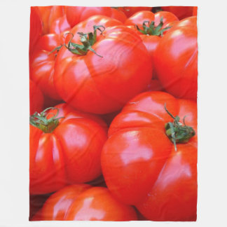 Tomatoes Fleece Blanket