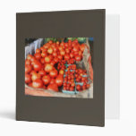 Tomatoes For Sale 3 Ring Binders