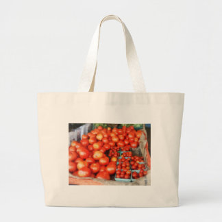 Tomatoes For Sale Large Tote Bag