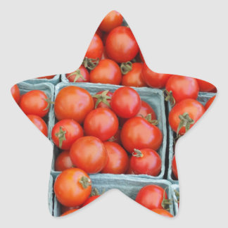 Tomatoes for Sale Star Sticker