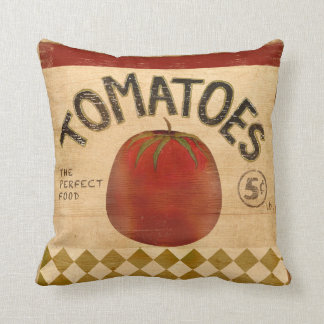 Tomatoes For Sale Throw Pillow