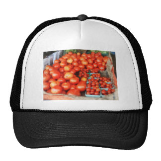 Tomatoes For Sale Trucker Hats