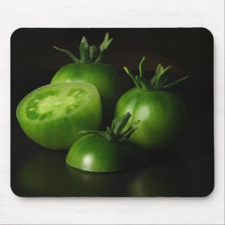 Tomatoes Green Still Life Mouse Pad