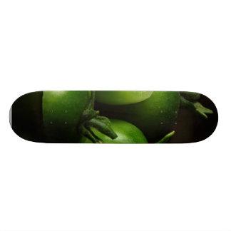 Tomatoes Green Still Life Custom Skateboard