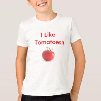 tomatoes, I Like Tomatoes, !! - Customized T-Shirt