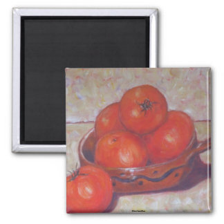 Tomatoes in a Dish Magnet