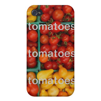 TOMATOES iPhone 4 COVERS