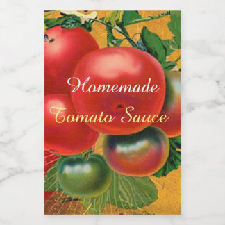 TOMATOES KITCHEN PRESERVES ,CANNINGS ,TOMATO SAUCE FOOD LABEL