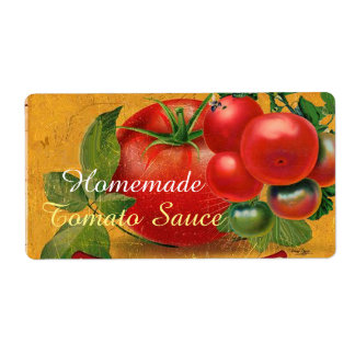 TOMATOES KITCHEN PRESERVES ,CANNINGS ,TOMATO SAUCE LABEL