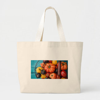 Tomatoes Large Tote Bag