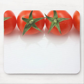 Tomatoes on top edge mouse pad