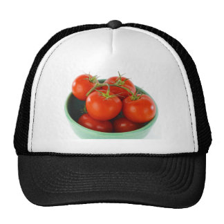 Tomatoes on Vine in Bowl Picture Hat