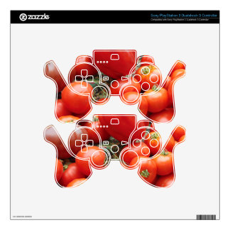 Tomatoes PS3 Controller Skin