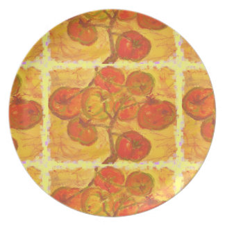 tomatoes rock dinner plates